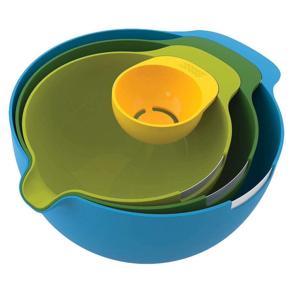 Image of Joseph Joseph Nest Mix 4 Piece Mixing Bowl Set with Egg Yolk Separator