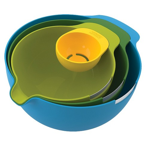 Joseph Joseph® Nest™ Mix 4 Piece Mixing Bowl Set with Egg Yolk Separator - image 1 of 8