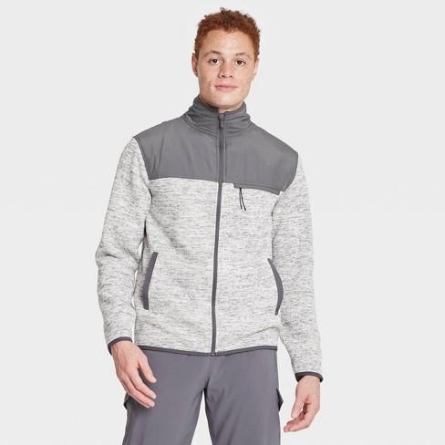 Men's Fleece Full Zip Sweatshirt - All in Motion™ - image 1 of 4