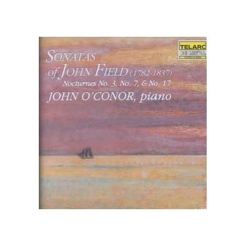 John John Field [Composer]; O'Conor - John Field: Sonatas and Nocturnes (CD) - image 1 of 1