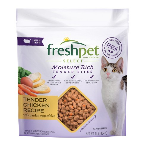 Freshpet Select Tender Chicken With Crisp Carrots Leafy Spinach