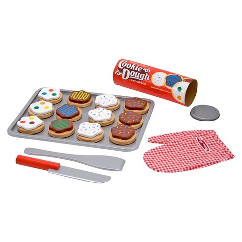 Melissa Amp Doug 174 Slice And Bake Wooden Cookie Play Food Set