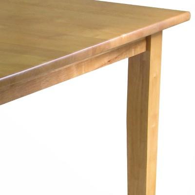 Groveland Square Dining Table, Shaker Leg,   Light Oak   Winsome