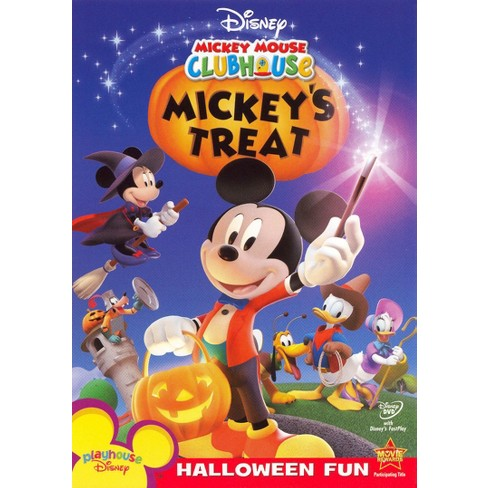 Mickey Mouse Clubhouse Mickey S Treat Dvd Target