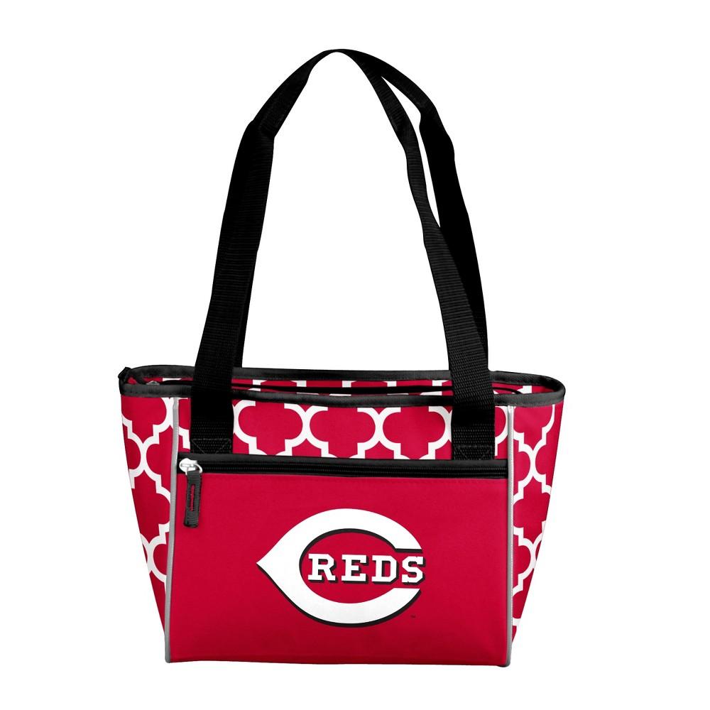 MLB Cincinnati Reds 16 Can Cooler Tote