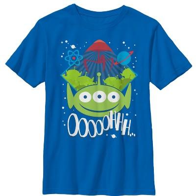 Boy's Toy Story Three-Eyed Alien Party T-Shirt
