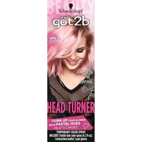 Got2b Color Headturner Cotton Candy Spray 4 2 Fl Oz Target