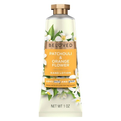 Beloved Patchouli & Orange Flower Hand Cream Lotion - 1oz