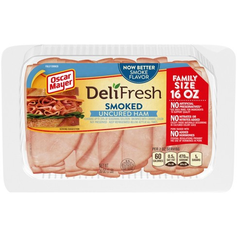 Oscar Mayer Deli Fresh Smoked Ham - 16oz - image 1 of 3