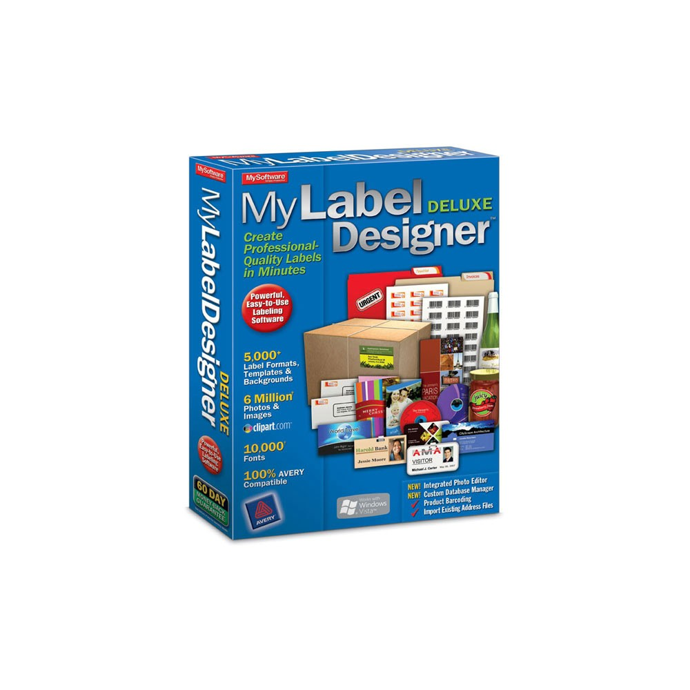 Avanquest My Label Designer Deluxe Pc Digital