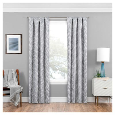 Haley Thermaweave Blackout Curtain Panel - Eclipse