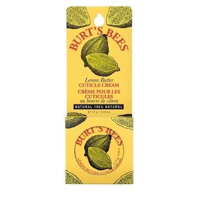 Burt's Bees Lemon Butter Cuticle Cream - 0.6oz