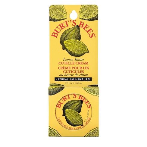 Burt's Bees Lemon Butter Cuticle Cream - 0.6oz - image 1 of 4