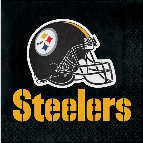 16ct Pittsburgh Steelers Napkins - image 1 of 1