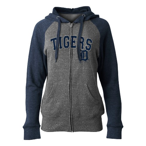 finest selection 3906b 41d9a MLB Detroit Tigers Women s On Deck Full Zip Hoodie