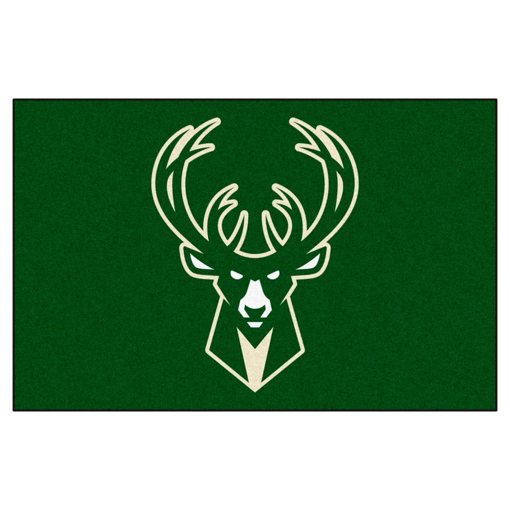 NBA Milwaukee Bucks Starter Rug 19