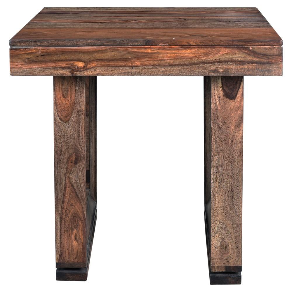 Brownstone End Table - Nut Brown - Treasure Trove