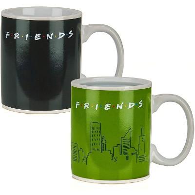 Friends How You Doin 10oz Heat Change Ceramic Mug
