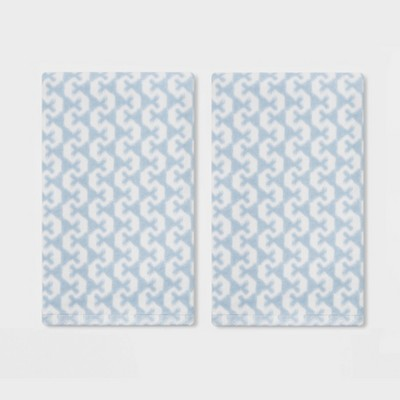 2pk Lionheart Hand Towel Blue - Threshold™
