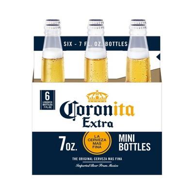 Corona Extra Coronita Lager Beer - 6pk/7 fl oz Bottles