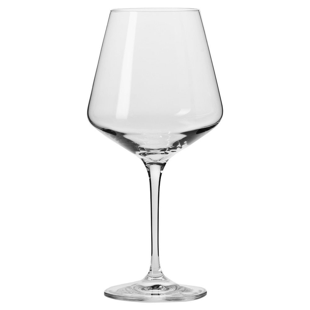 Image of KROSNO Vera Red Wine Glasses 16oz - Set of 6, Clear