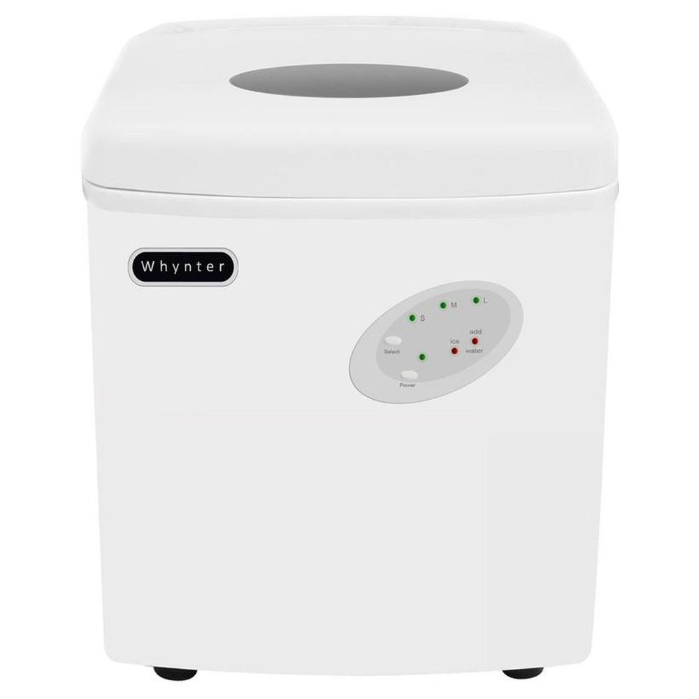 Whynter Portable Ice Maker 33 lb Capacity – White 50251483