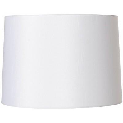 Brentwood White Fabric Hardback Lamp Shade 13x14x10 (Spider)