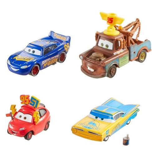 Disney Pixar Cars Fan Favorites 4pk - image 1 of 4