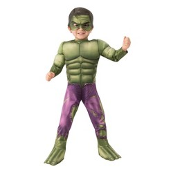 Toddler Marvel Hulk Halloween Costume Jumpsuit