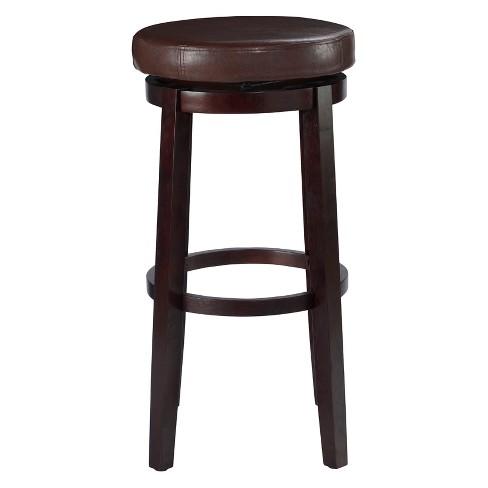 Stupendous 29 Linon Maya Swivel Barstool Brown Evergreenethics Interior Chair Design Evergreenethicsorg