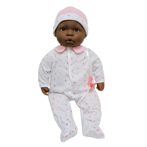 "JC Toys La Baby Soft Body 20"" Baby Doll - Pastel Pink Baby Outfit with Pacifier - image 1 of 3"