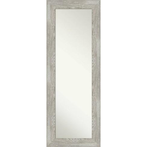 20 X 54 Dove Graywash Framed On The, Mirror Framed Mirror Target