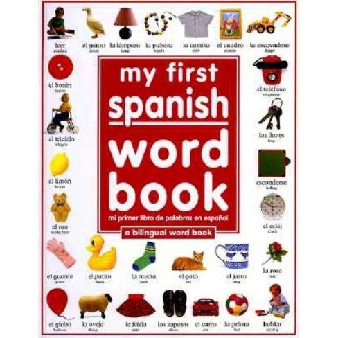 My 1st Spanish Word Book Bilingual (Hardcover) by Angela Wilkes - image 1 of 1