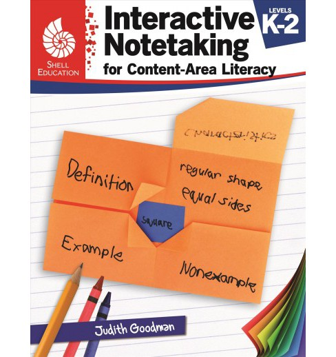 Interactive Notetaking for Content-Area Literacy, Levels K-2 -  by Judith Goodman (Paperback) - image 1 of 1