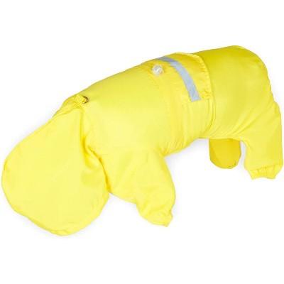 Okuna Outpost Dog Raincoat for Medium Dogs, Yellow Coat