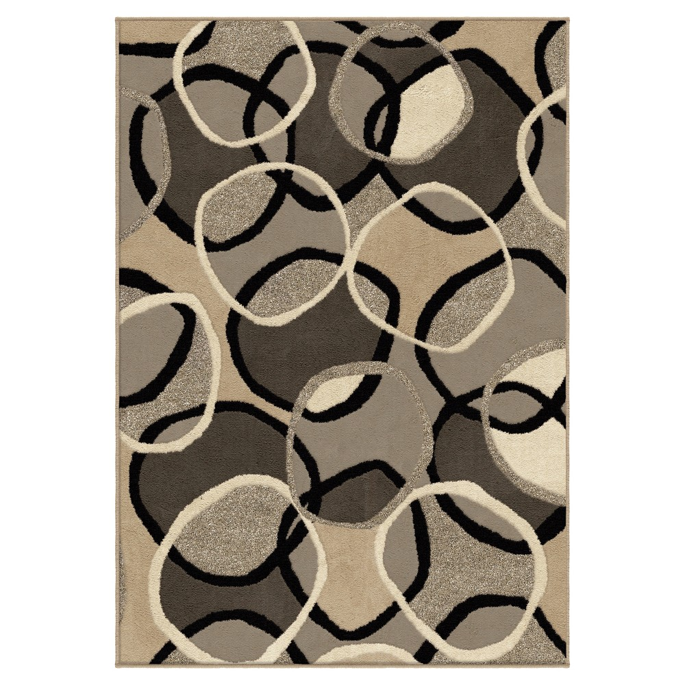 """Image of """"Abstract Woven Accent Rug - (3'11""""""""x5'5"""""""") - Orian, Size: 3'11"""""""" x 5'5"""""""""""""""