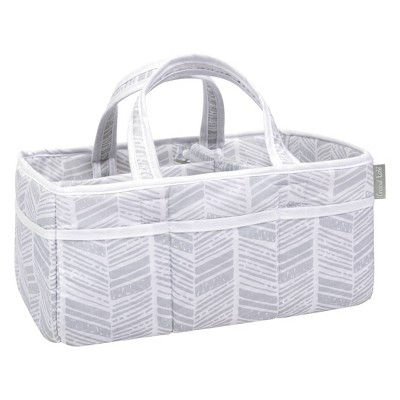 Trend Lab Storage Caddy - Gray Herringbone