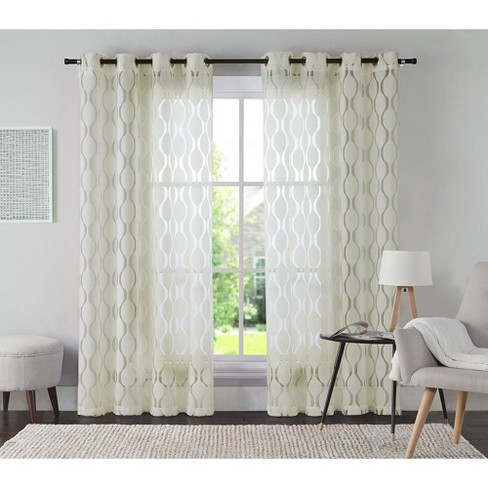 VCNY Home Aria Curtain Panel - image 1 of 1