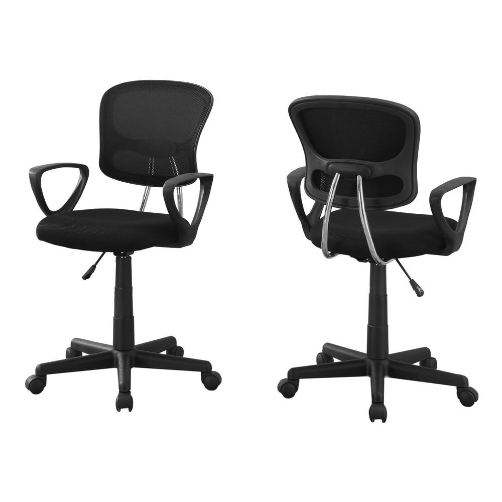 Image of Office Chair - Black Mesh - EveryRoom