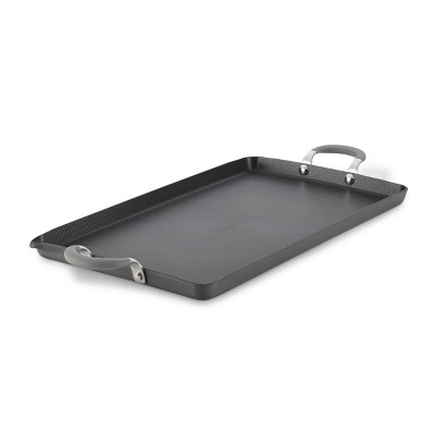 "Circulon Elementum 10""x18"" Hard Anodized Nonstick Double Burner Griddle"