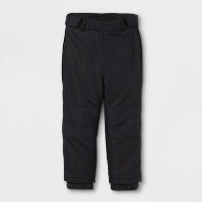 Toddler Adaptive Snow Pants - Cat & Jack™ Black