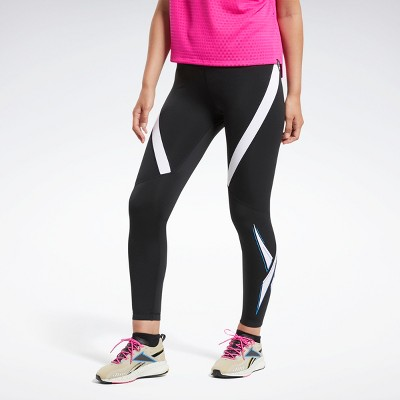 Reebok Workout Ready Vector Leggings Womens Athletic Leggings