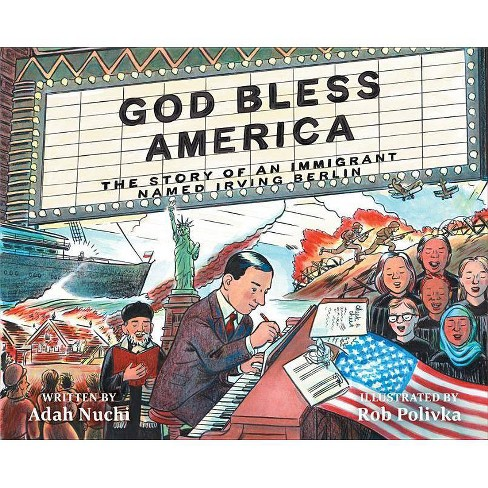 God Bless America - by  Adah Nuchi (Hardcover) - image 1 of 1