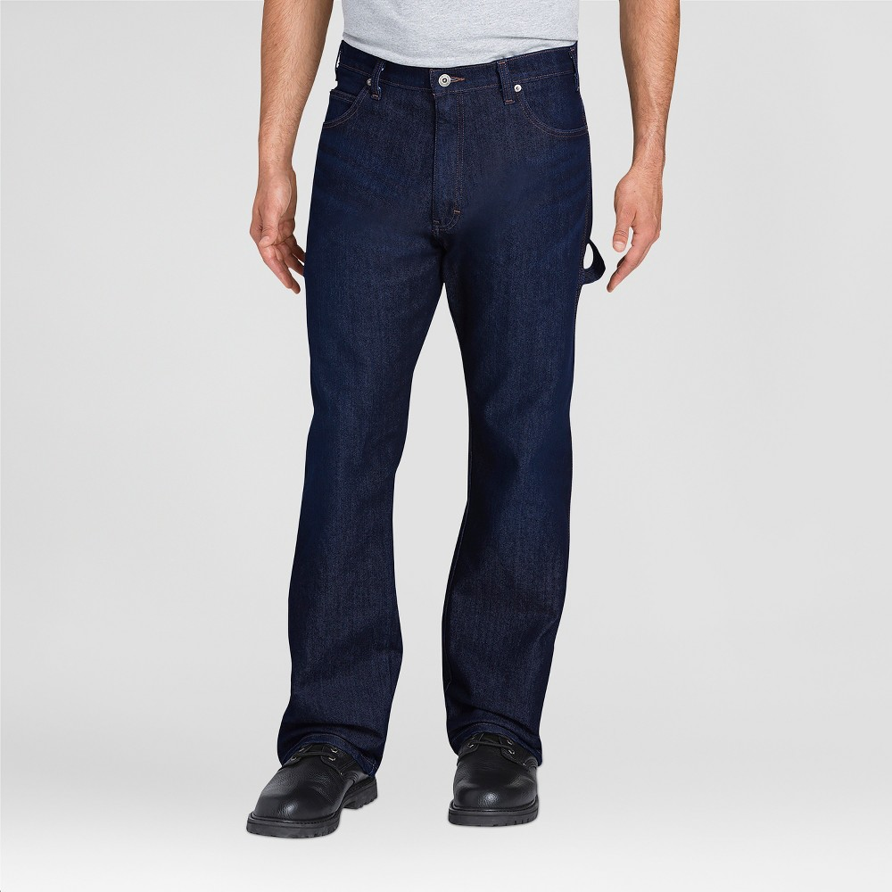 Dickies Men's Relaxed Straight Fit Jeans - Indigo Blue 32x30