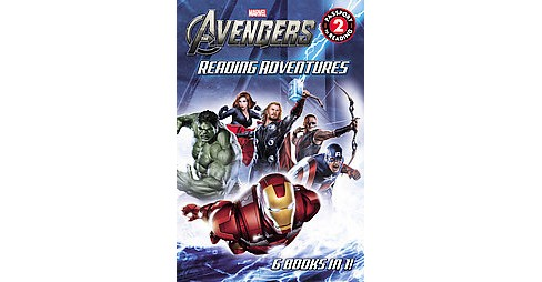 Avengers Reading Adventures (Paperback) - image 1 of 1