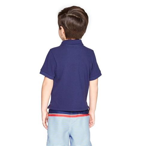 a6bd3b39b5 Toddler Boys' Short Sleeve Polo Shirt - Navy - Vineyard Vines® For Target :  Target