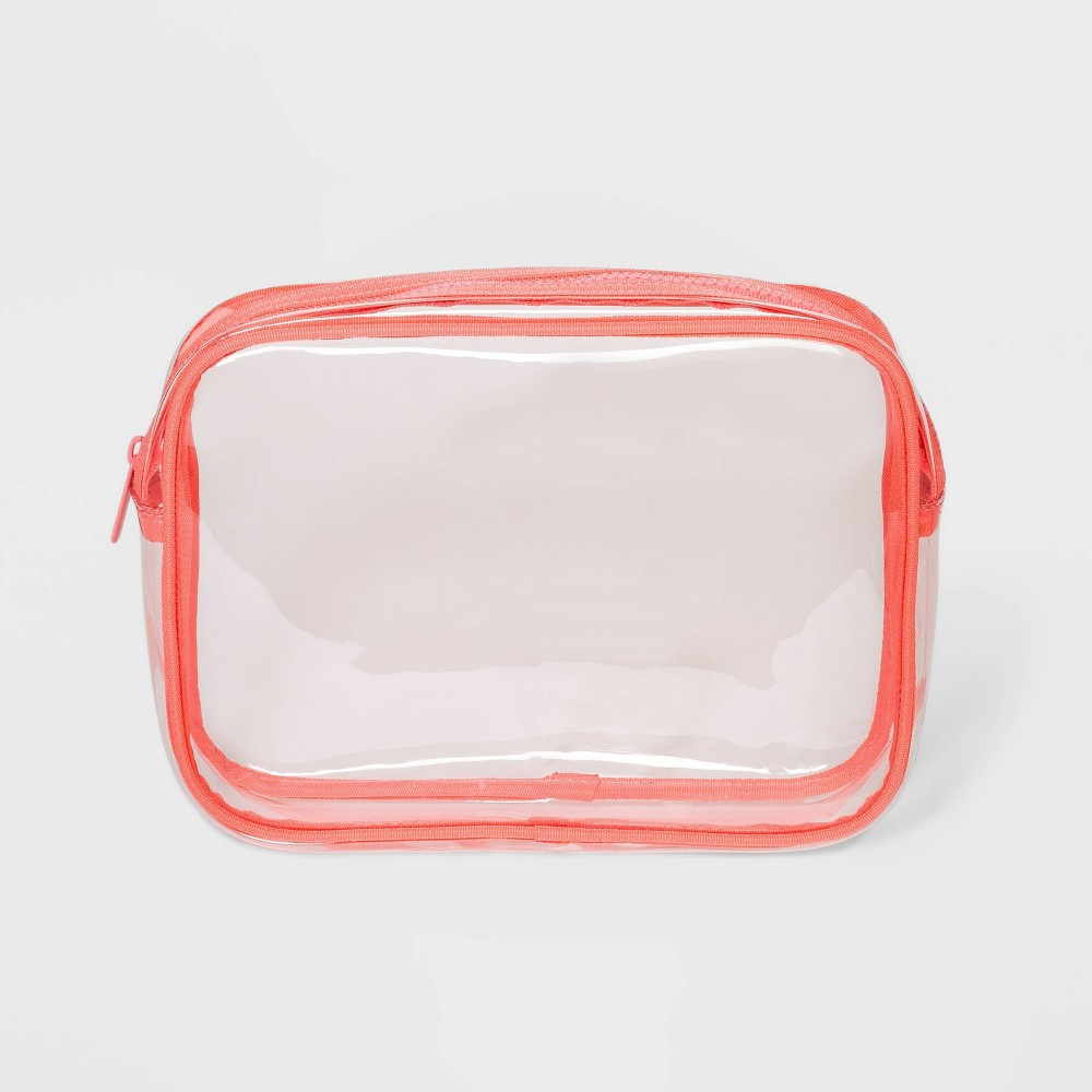 Image of Clutch Pouch - Shade & Shore Coral, Pink