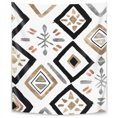 Americanflat Rhythemics Ii by PI Creative Art Wall Tapestry