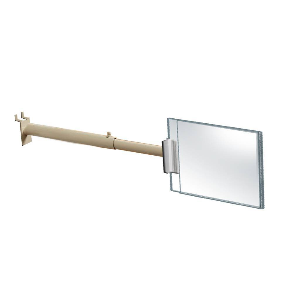Azar Displays 7 X 5 4pk Large Two Sided Acrylic Sign Holder With Telescopic Grippers