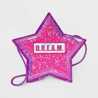 Girls' JoJo Siwa Dream Star Crossbody Bag - Purple